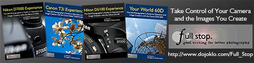 Full Stop photography e book camera user guide Nikon Canon dSLR