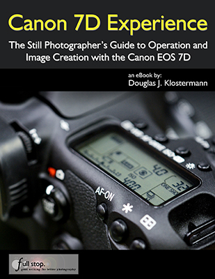 Canon 7D EOS book e book ebook guide manual tutorial how to instruction for dummies 7d mark i mk i