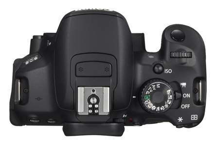 Canon Rebel T4i EOS 650D mode dial