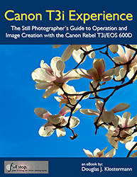 Canon T3i book Canon 600D book Canon T3i Experience book guide manual tutorial how to instruction by Douglas Klostermann