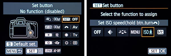 Canon 70D set up quick start tips tricks recommended setting guide