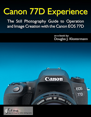 Canon 77D EOS book manual guide tutorial how to tips tricks recommended settings set up dummies use quick start