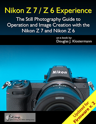 Nikon Z7 Z6 Experience book manual guide Firmware 2 update